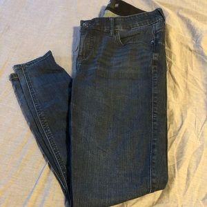 Dark wash bombshell skinny jean